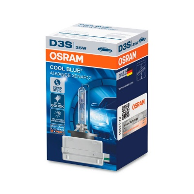 Лампа ксеноновая Osram Xenarc Cool Blue Advance D3S (PK32d-5) 35 Вт, 6000°К (66340CBA)