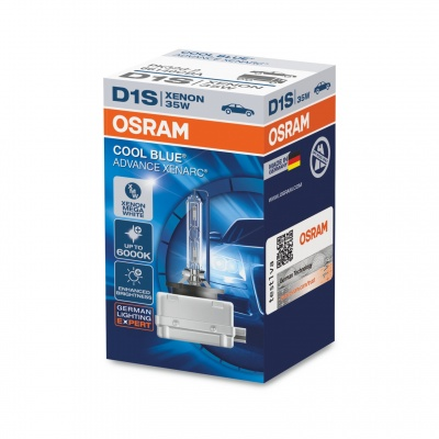 Лампа ксеноновая Osram Xenarc Cool Blue Advance D1S (PK32d-2) 35 Вт, 6000°К (66140CBA)