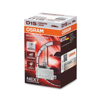 Ксеноновая лампа Osram Xenarc Night Breaker Laser D1S (PK32d-2), 35 Вт, 4200°К 66140XNL